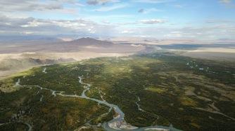 Delta in der Nähe des Achit Nuur